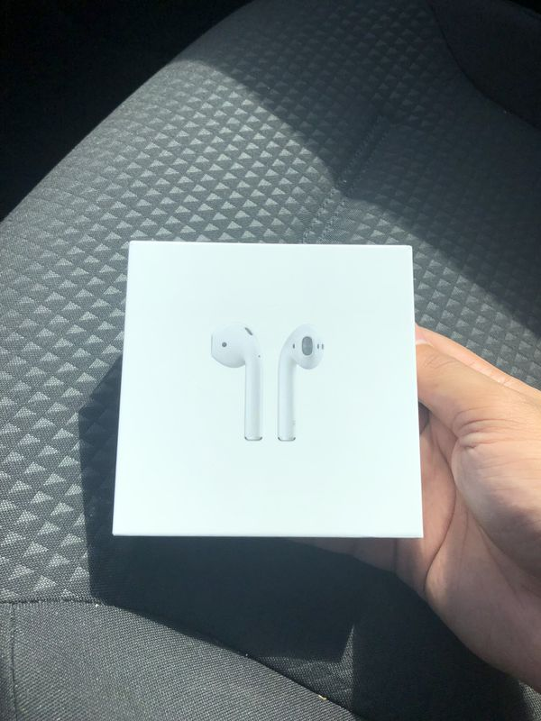 NEW AirPods 2 With Wireless Charging Case