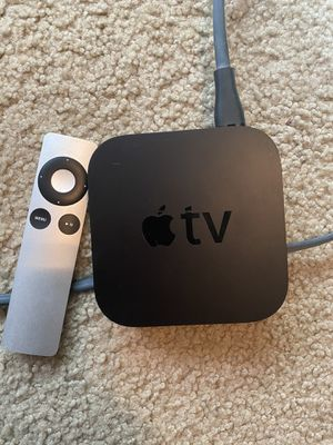 Apple TV with remote for Sale in Fresno, CA