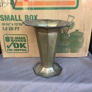 Sheffield silver plated vase for Sale in Portland, OR
