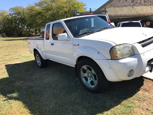 2002 NISSAN FRONTIER V6 SUPER CHARGER AUTOMATIC REBUILT SALVAGE TITLE MILES 138,000 GREAT RUNNING PRICE $4500 for Sale in Grand Prairie, TX