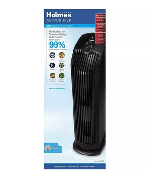 Holmes Air Purifier with Hepa Permanent Filter for Sale in Morton Grove, IL