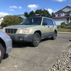Subaru Forester 2001 Clean Title 5speed for Sale in Graham, WA