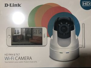 DLink HD Pan & Tilt WIFI Camera NO Monthly Pay for Sale in Anaheim, CA
