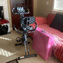 Gym Indoor Bike and Pink Gym Mat for Sale in Renton,  WA