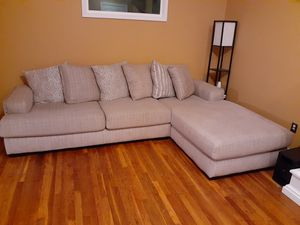 Nice couch. Less than a year old for Sale in Bloomington, IL