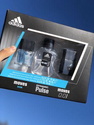 Adidas brand new in box perfume set for men for Sale in Glendale, AZ