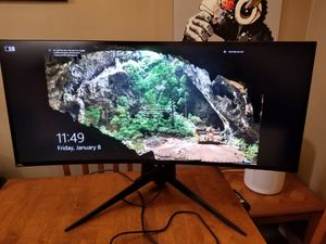Alienware 34-inch Ultrawide Curved Gaming Monitor - can deliver for Sale in Glendale, CA