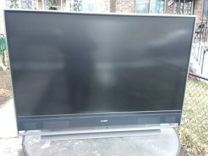 Sony 60 inch DLP TV with remote control needs new bulb for Sale in Washington, DC