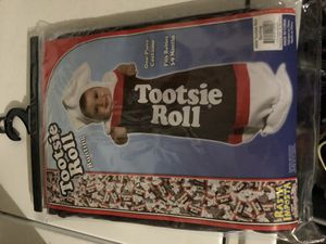 Tootsie roll baby costume for Sale in Las Vegas, NV