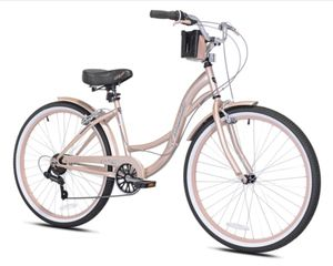 "Brand New 26"" Women's Cruiser Bike 7 Speed Rose Gold for Sale in Kirkland, WA"