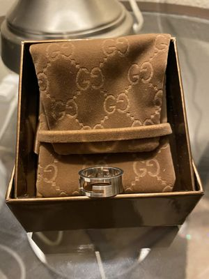 ♥️💯Authentic Gucci Silver Ring 92.5 for Sale in Chula Vista, CA