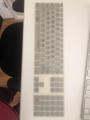 Skin/protector for Apple magic keyboard with numeric keypad for Sale in San Leandro, CA