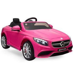 New Mercedes Benz S3 Ride On Car with Parent Remote Control, Pink for Sale in Columbus, OH