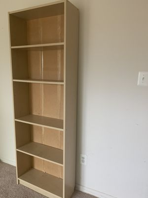Ikea wooden cabinet with 5 adjustable shelves for Sale in Vienna, VA