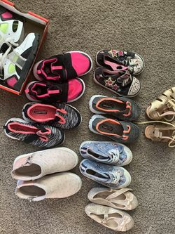 Toddler Girl Shoes for Sale in Chesapeake,  VA