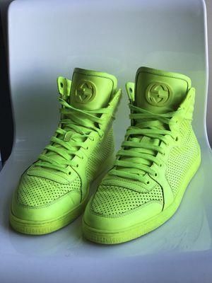 Gucci Neon Yellow shoes for Sale in Arlington, VA