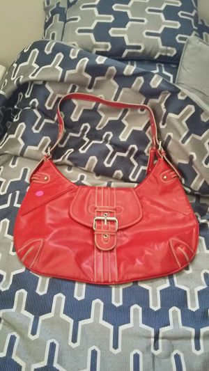 Tommy Hilfigure vintage authentic red leather hobo bag for Sale in Cleveland, OH