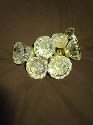 Antique glass knobs for Sale in Irving, TX