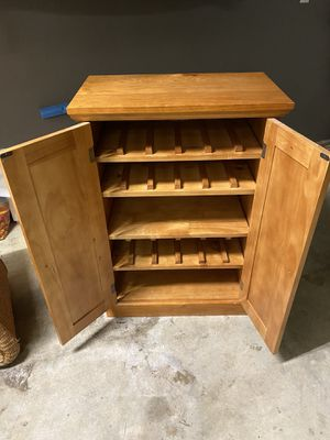 Wine or storage cabinet for Sale in Portland, OR