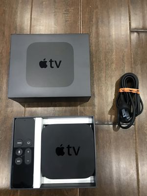 Apple TV Model A1625 32GB Black (MGY52LL/A) for Sale in South Riding, VA