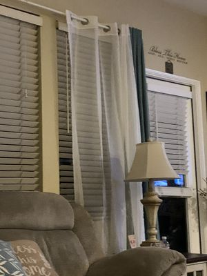 Set of curtains with curtain rod. excellent condition for Sale in Chula Vista, CA