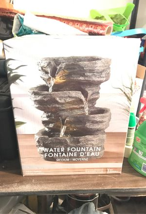 Never been used in box fountain for Sale in Yorba Linda, CA