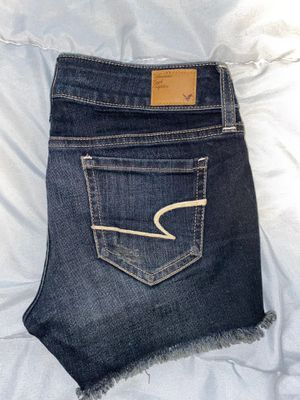 American Eagle Dark Denim Short Shorts for Sale in Irving, TX