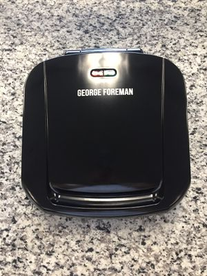 New open box George Foreman 4 Serving Removable Copper Plate Grill GRP460BXC #16269-1 for Sale in Revere, MA