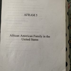 African-American family in the United States (Photocopied ! ) for Sale in Oakland, CA