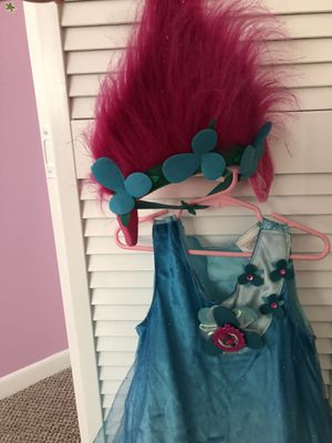 Poppy troll custome for Sale in Davie, FL