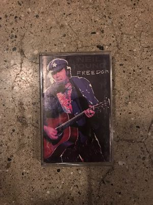 NEIL YOUNG FREEDOM CASSETTE TAPE for Sale in Walnut, CA