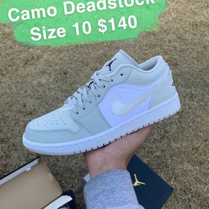 Jordan 1 Low Camo Size 10 for Sale in Oklahoma City, OK