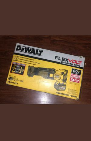 Dewalt saw zall flexvolt 60v kit for Sale in Manassas, VA