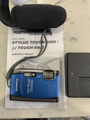 Olympus Stylus Tough-6000 10 MP Waterproof Digital Camera for Sale in Long Beach, CA