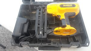 Dewalt finishing nail gun for Sale in Tampa, FL