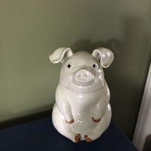 Antique Handpainted Pig Cookie Jar for Sale in Kernersville, NC