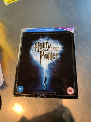 Harry Potter 8 film blue ray for Sale in Modesto, CA
