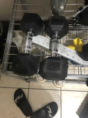 Weights for sale for Sale in Miami, FL