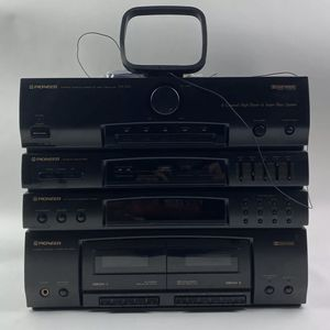 Pioneer Stereo Cassette Deck Receiver RX-590 4-Channel High Power Super Bass for Sale in Tucson, AZ