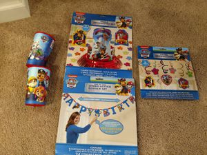 Paw Patrol party set for Sale in Sunbury, OH