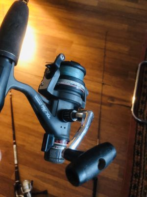 shimano and ugly stick fishing reel and rod for Sale in Fort Washington, MD