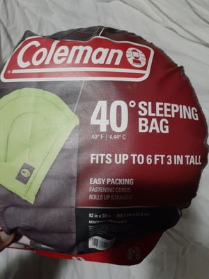 Coleman Sleeping Bag for Sale in Plainfield, IL