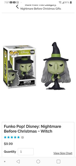 Nightmare Before Christmas Funko witch for Sale in San Diego, CA
