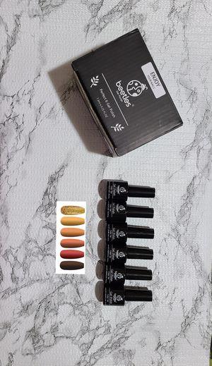 Gel Nailpolish Set UV/LED Acrylic Soakoff New for Sale in West Jordan, UT
