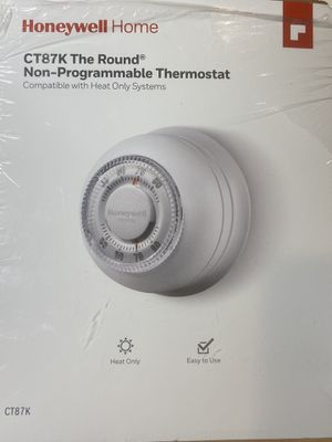 Honeywell round non-programmable thermostat. Never used! for Sale in Landover, MD