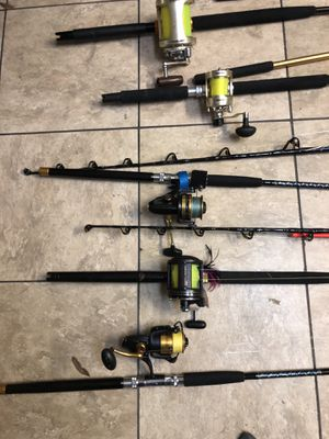 Custom star rods peen reels and lt2 s and other high end reels.. if you fish you know I have what your looking at for Sale in Lake Worth, FL