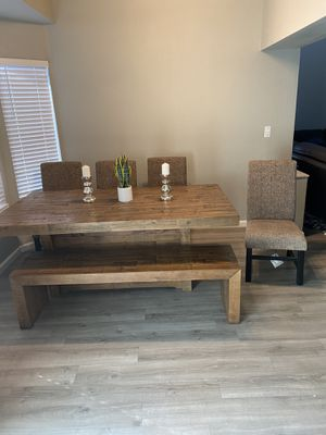 DINING TABLE ASHLEY FURNITURE for Sale in Vallejo, CA