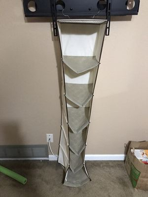 Free 5 Section Closet Organizer - Hanging Shelves for Sale in Fresno, CA