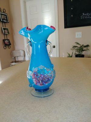 Vintage blown glass vase for Sale in American Fork, UT