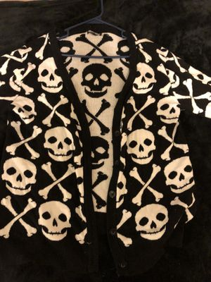 XL Hot Topic Skull Cardigan for Sale in Cleveland, OH